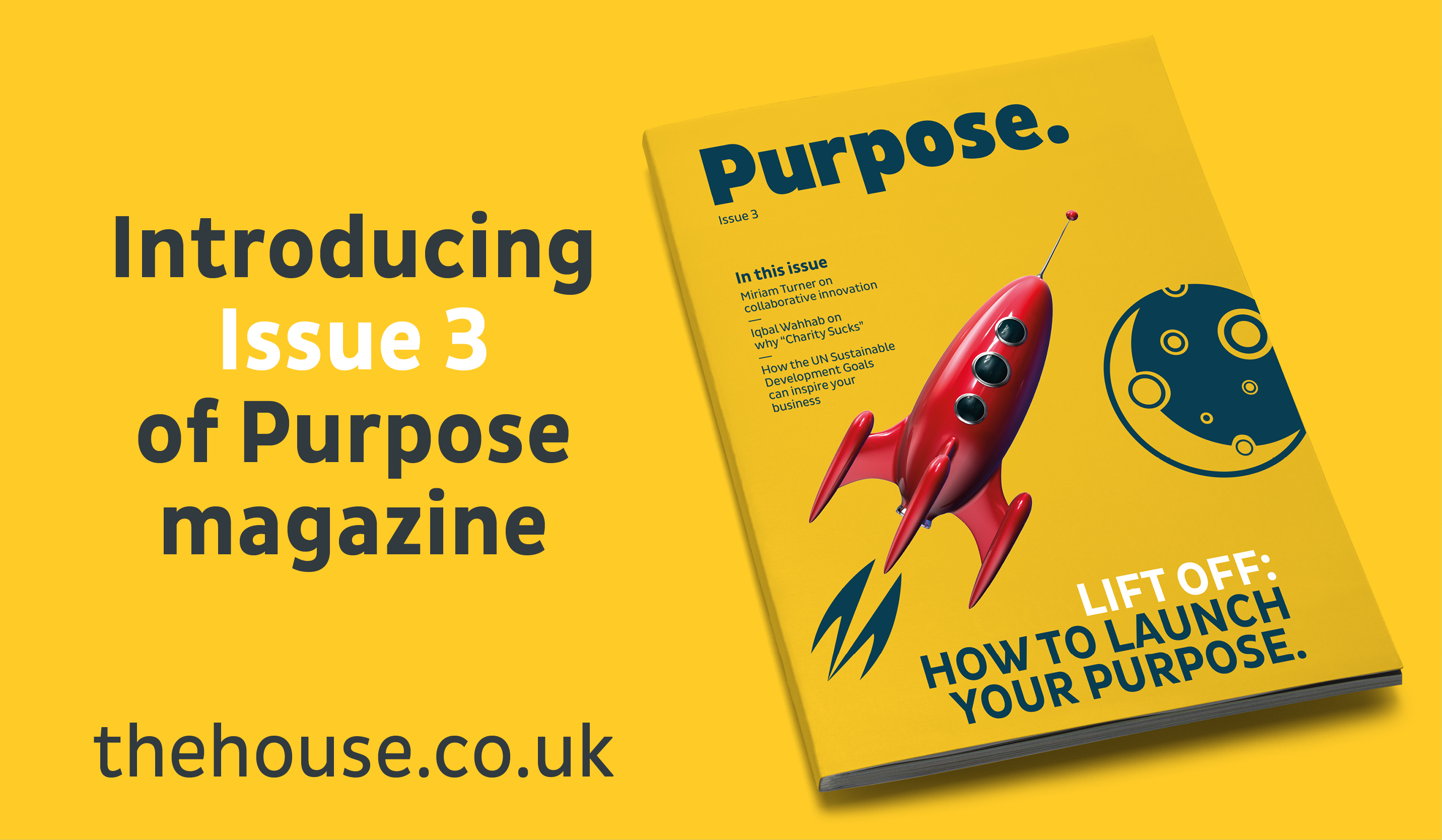 Purpose Issue 3: How to Launch Your Purpose