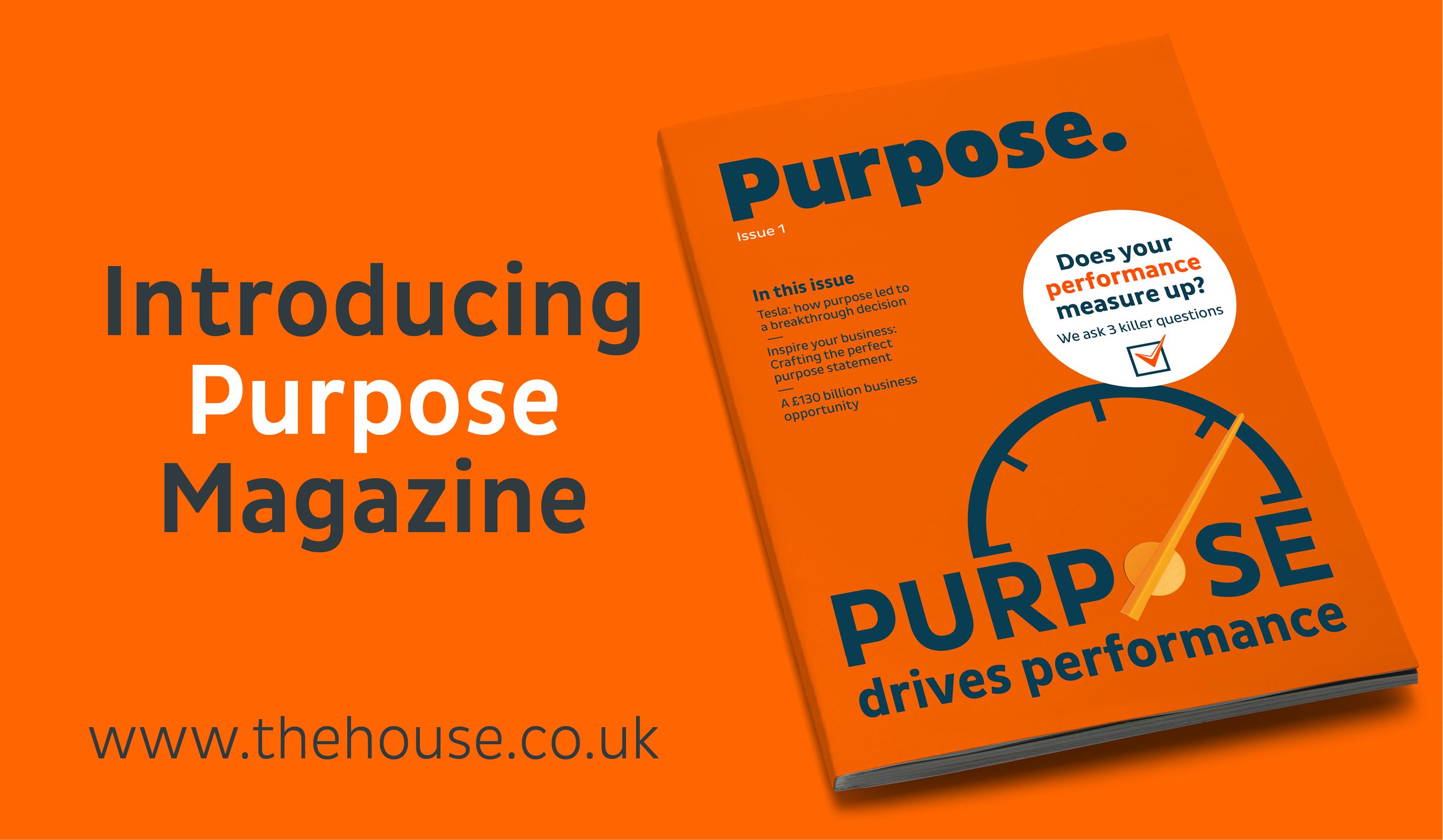 Introducing Purpose Magazine